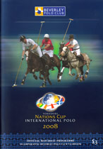 Beverley Polo Club Official Matchday Programme June 2008
